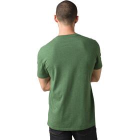 Prana T-shirt manches longues à col ras-du-cou Homme, pineneedle heather